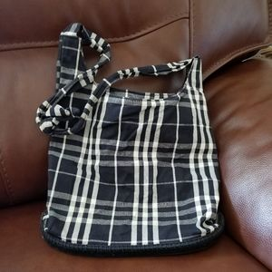 Canvas burberry bag